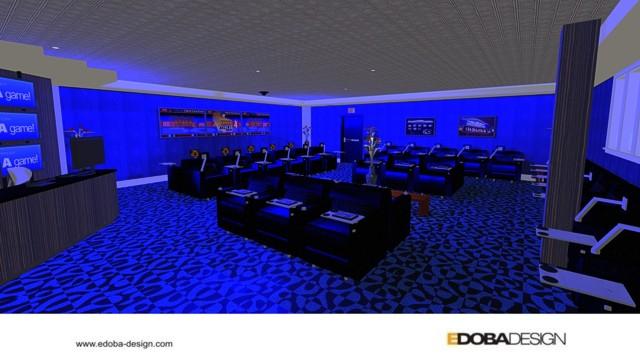 Casino Gaming Lounge - EDOBA :: Design